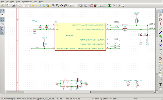 Eeschema screenshot